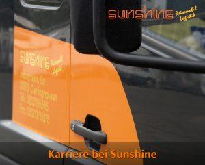 Karriere bei Sunshine