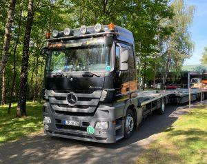Mercedes Benz: 1841LS + Actros
